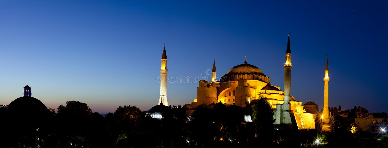 Hagia Sofia in Istanbul, die Türkei lizenzfreies stockbild