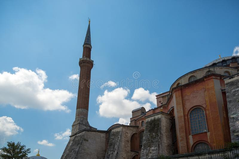 Hagia Sofia, Istanbul Turkiet royaltyfri foto