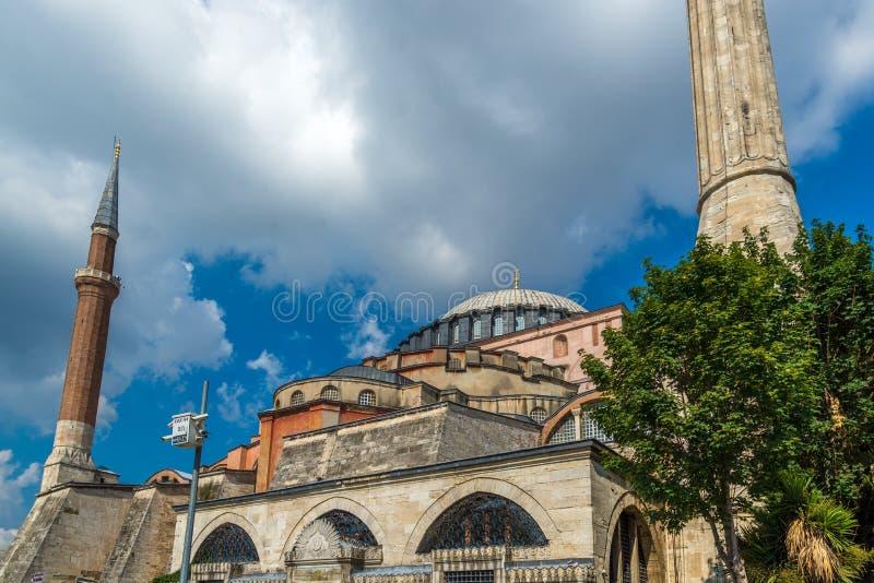 Hagia Sofia, Istanbul Turkiet arkivfoto