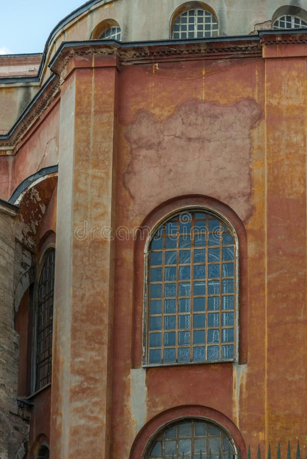 Hagia Sofia, Istanbul Turkiet royaltyfri fotografi