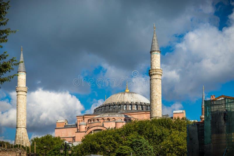 Hagia Sofia, Istanbul Turkiet royaltyfri bild