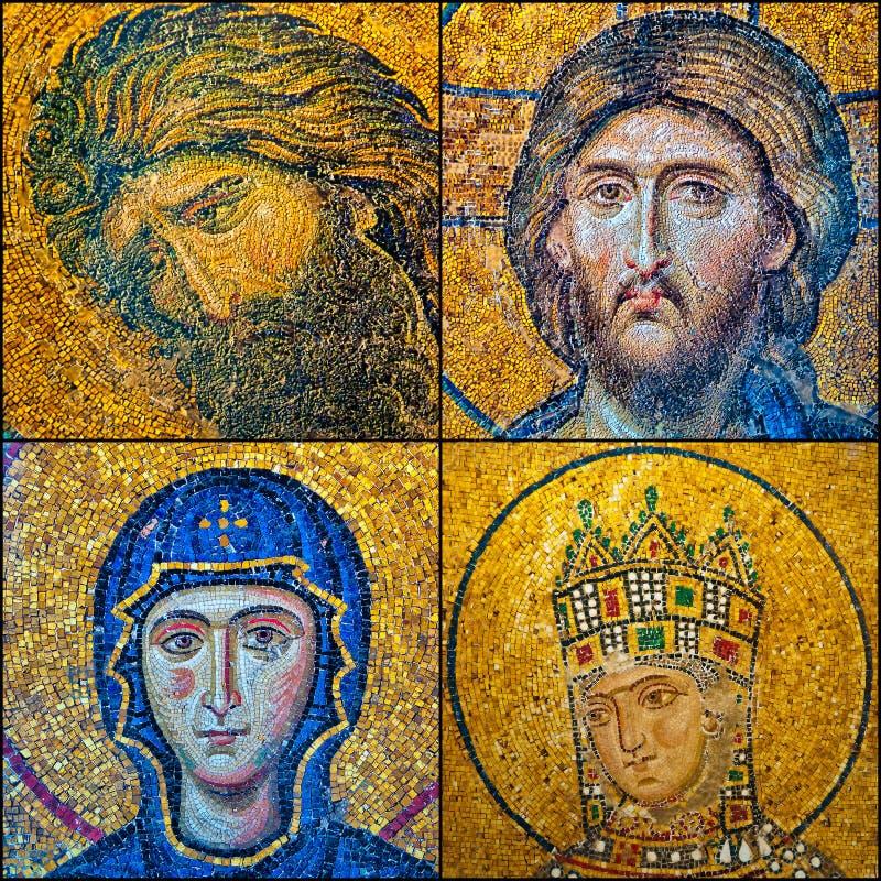 Hagia Sofia Mosaiken stockfotografie