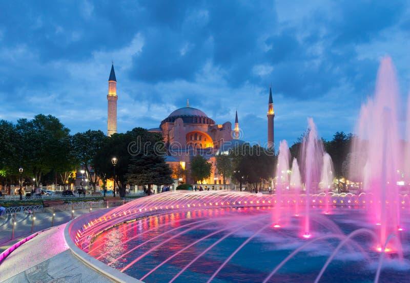 Hagia Sofia Mosque en Estambul fotografía de archivo
