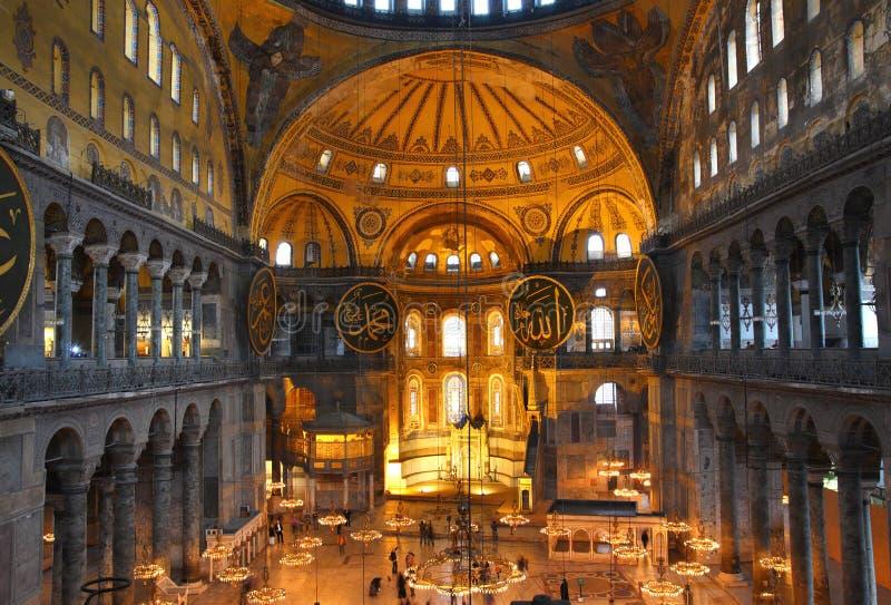 Download Hagia Sofia Museum Interior In Istanbul Stock Photo - Image: 30241522
