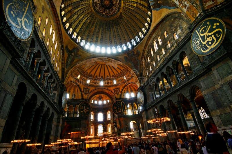 Hagia Sophia在伊斯坦布尔 免版税库存图片