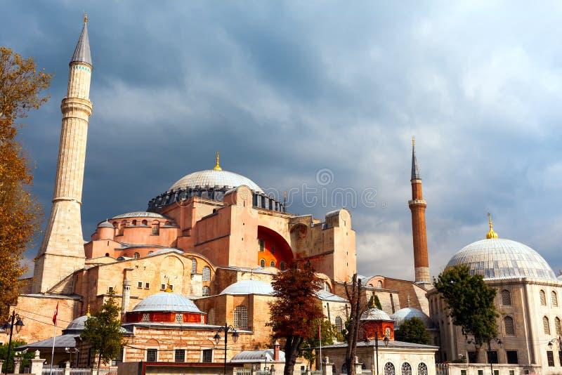 Hagia Sophia à Istanbul Le monument de renommée mondiale de l'architecture bizantine Vue du St Sophia Cathedral à photos stock