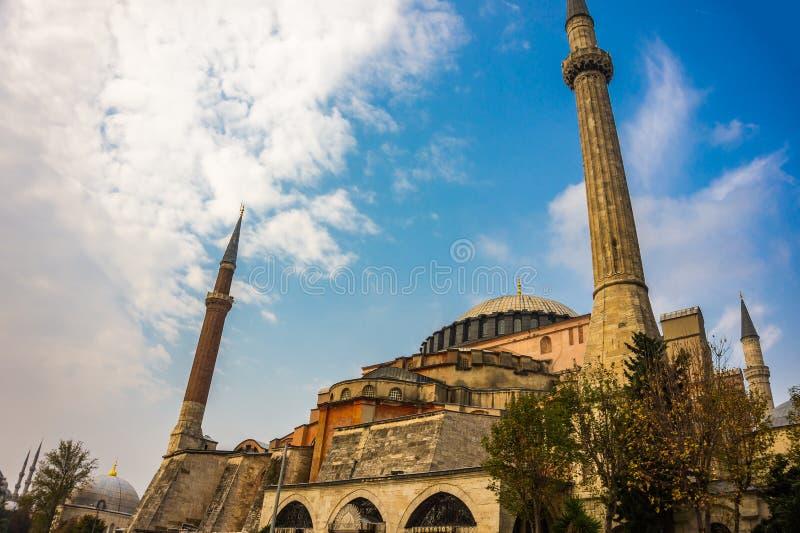 Hagia Sophia à Istanbul Le monument de renommée mondiale de l'architecture bizantine images stock