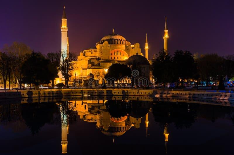 Hagia Sophia (μουσουλμανικό τέμενος της Sophia), Ιστανμπούλ, Τουρκία στοκ εικόνες