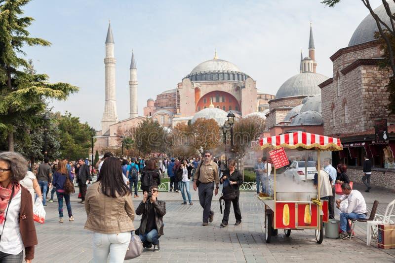 Hagia Sophia image libre de droits