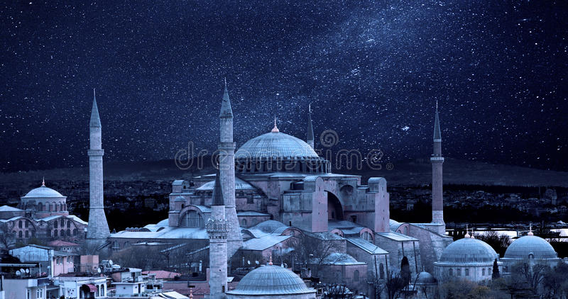 Hagia Sophia immagini stock