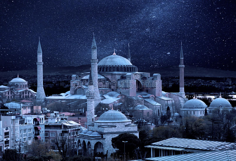 Hagia Sophia images libres de droits