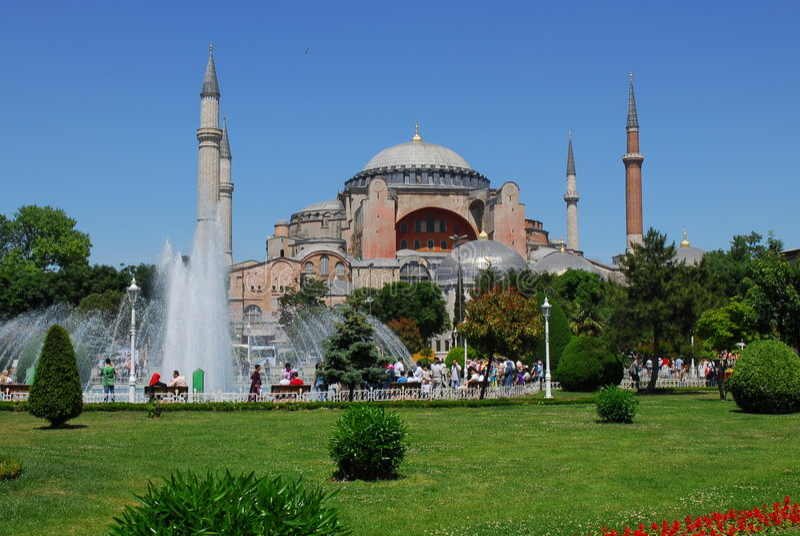 Hagia Sophia stockfotografie