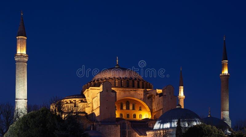 Hagia Sophia (Ayasofya) em Istambul, Turquia imagem de stock royalty free