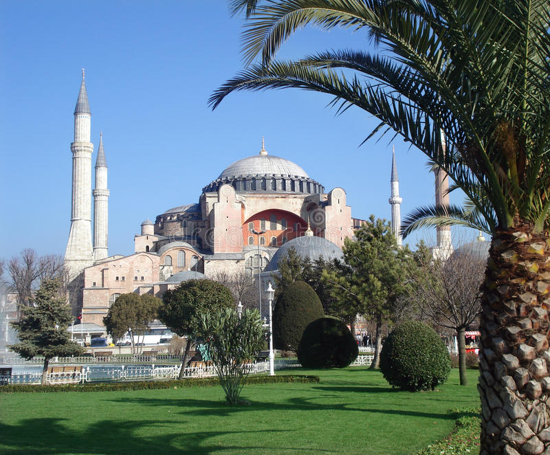 Hagia Sophia basilica royalty free stock photos