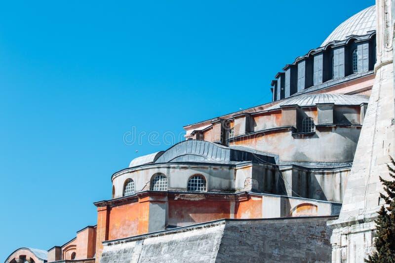 Hagia Sophia bij middag royalty-vrije stock afbeelding