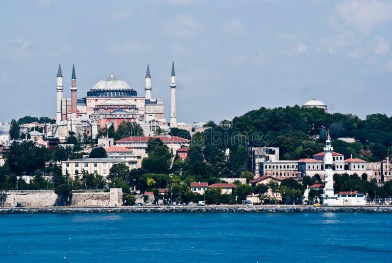 Hagia Sophia a Costantinopoli fotografia stock libera da diritti