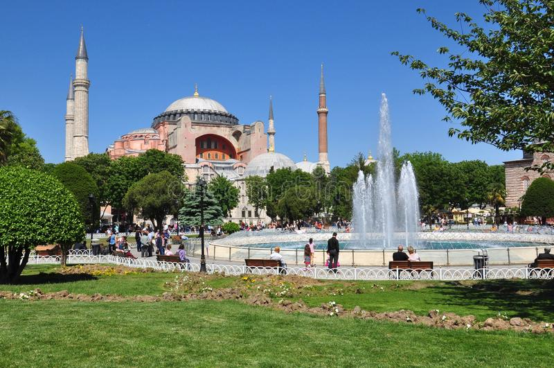 Hagia Sophia, Costantinopoli immagini stock