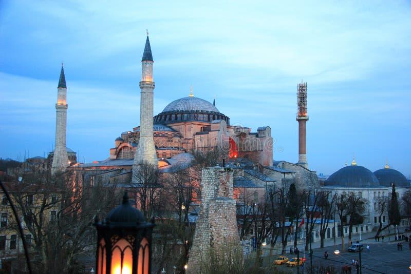 Hagia Sophia, Costantinopoli, Turchia fotografia stock