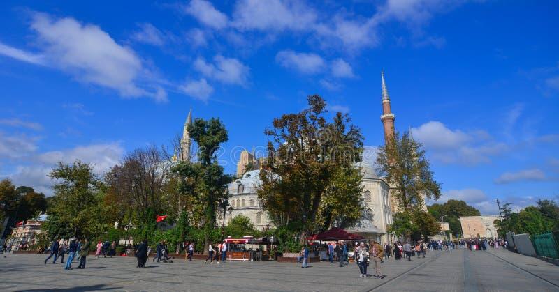 Hagia Sophia a Costantinopoli, Turchia immagine stock
