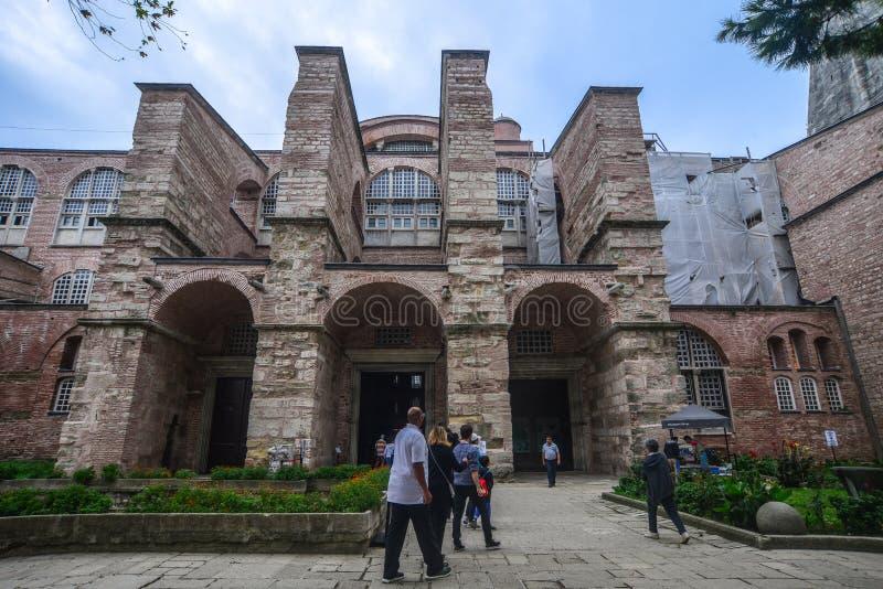 Hagia Sophia a Costantinopoli, Turchia fotografia stock