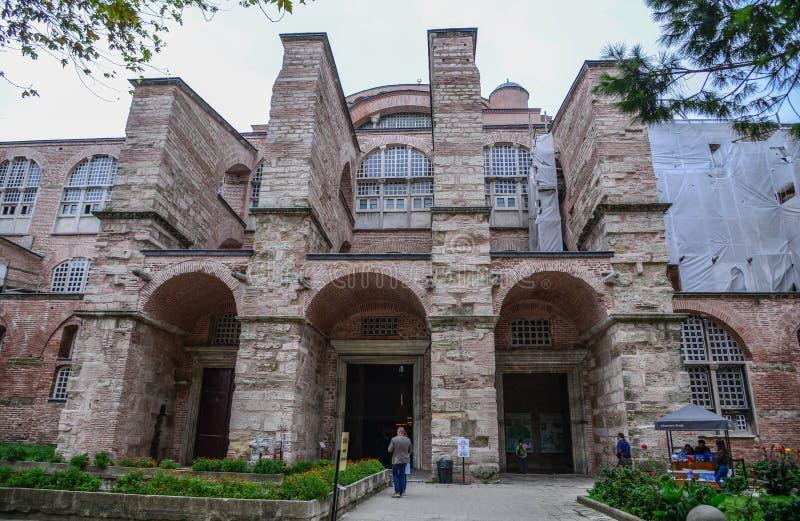 Hagia Sophia a Costantinopoli, Turchia immagine stock libera da diritti