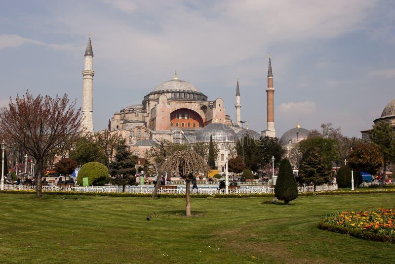 Hagia Sophia dans le secteur de Sultanahmet, Istanbul La Turquie image libre de droits