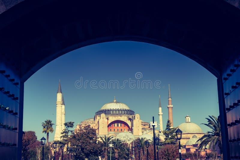 Hagia Sophia, el monumento famoso fotografía de archivo