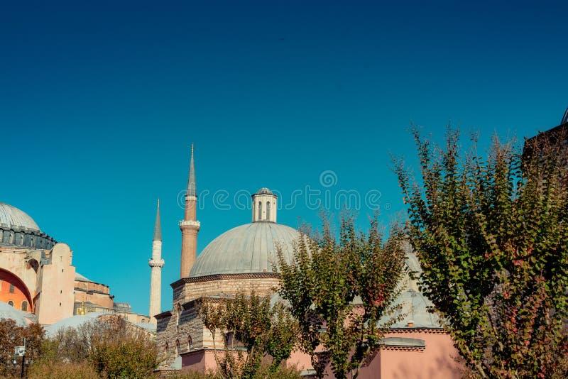Hagia Sophia, el monumento famoso imagenes de archivo