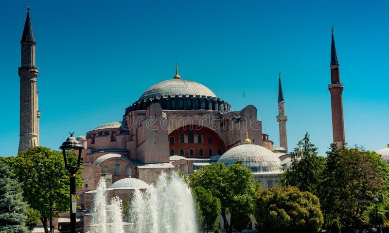 Hagia Sophia, el monumento famoso fotos de archivo