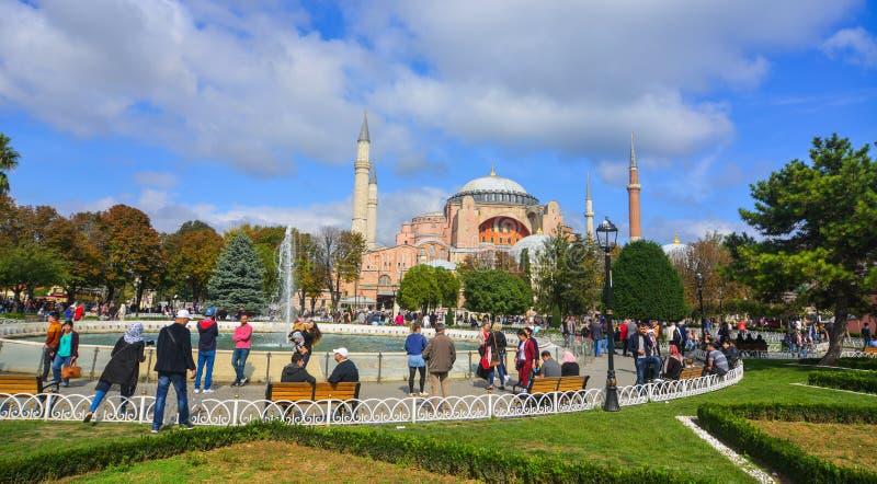Hagia Sophia en Estambul, Turqu?a imagenes de archivo