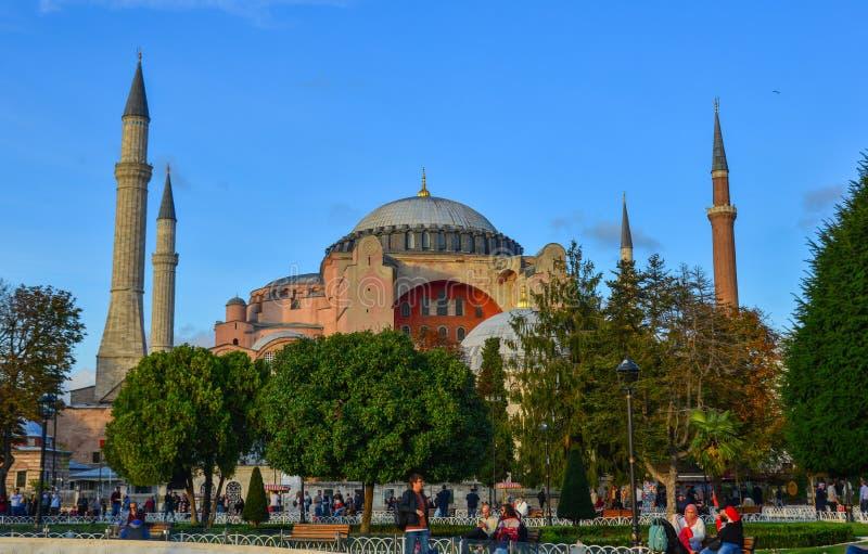 Hagia Sophia en Estambul, Turqu?a fotos de archivo libres de regalías