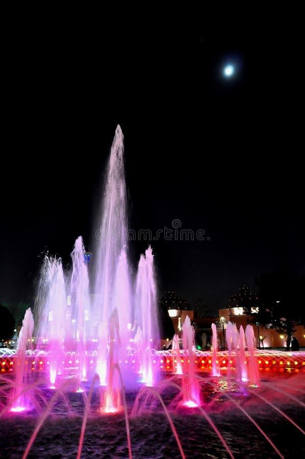 Hagia Sophia en la noche foto de archivo