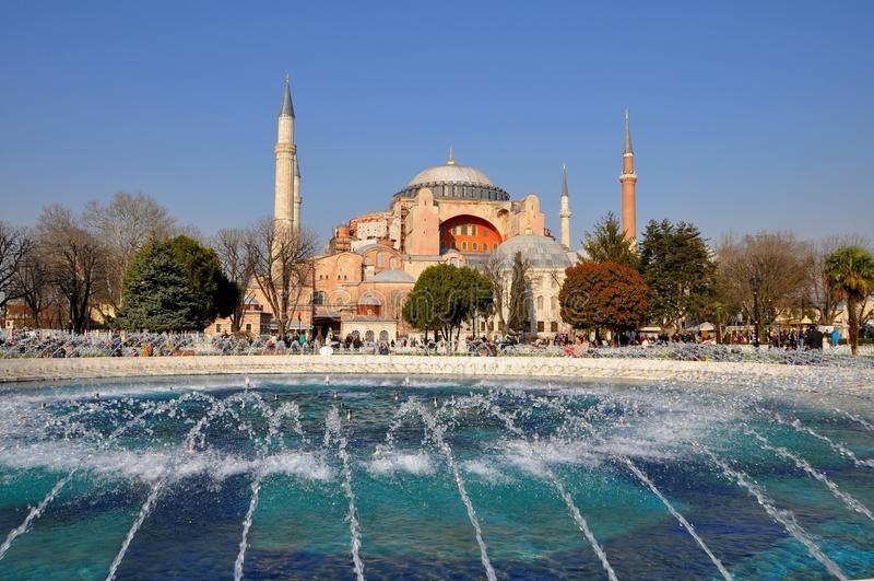 Download Hagia Sophia editorial stock image. Image of constantinople - 39512379