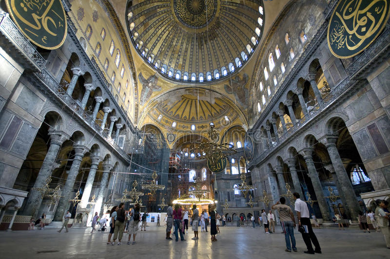 Exceptional Download Hagia Sophia (Interior) Editorial Image. Image Of Constantinople    15896610