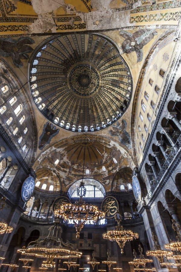 Hagia Sophia Interior Editorial Stock Photo