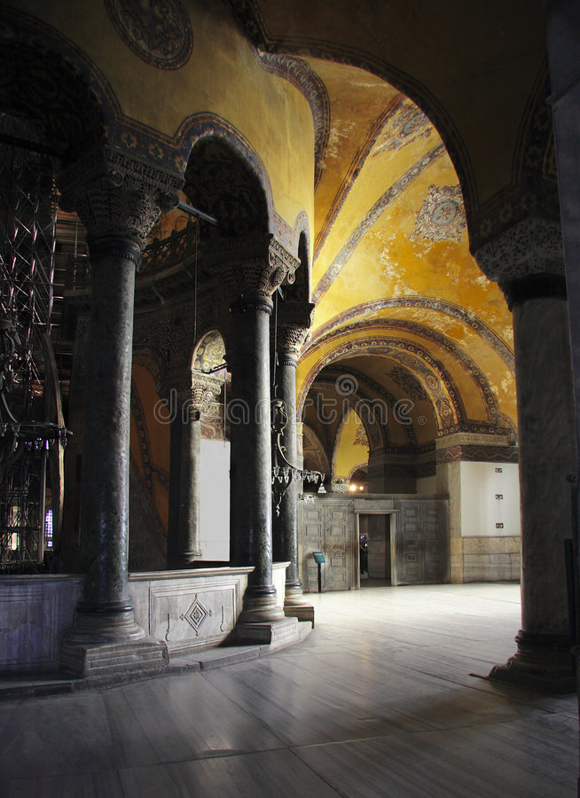Hagia Sophia, Istambul, Turquia fotografia de stock royalty free