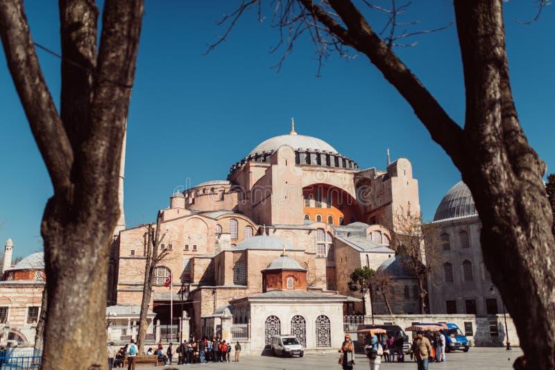 Hagia Sophia, Istambul, Turquia fotografia de stock