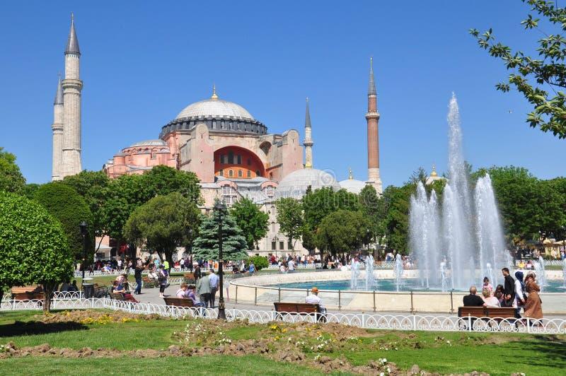 Hagia Sophia, Istanboel royalty-vrije stock foto's