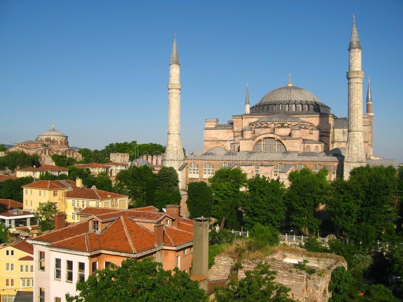 Hagia Sophia Istanboel stock afbeeldingen