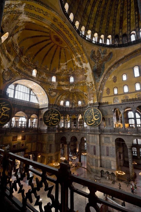 Hagia Sophia in Istanboel royalty-vrije stock afbeeldingen