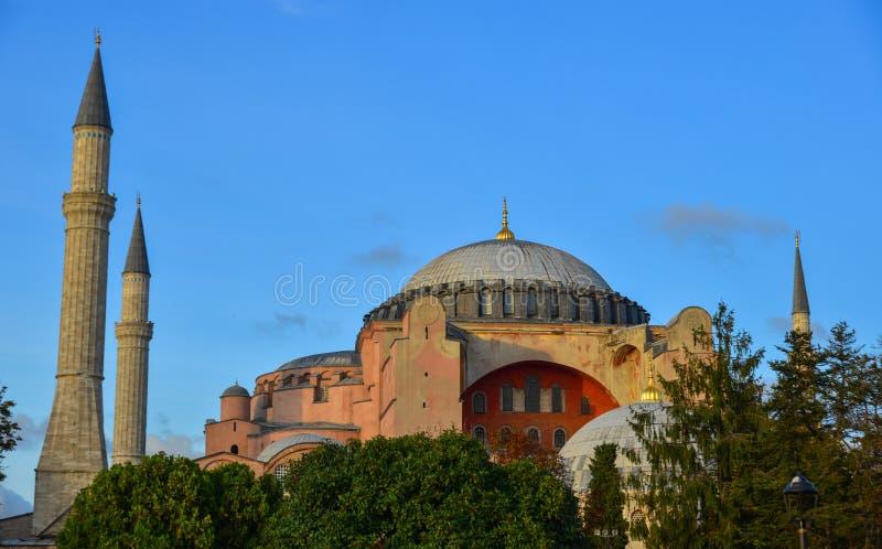 Hagia Sophia in Istanboel, Turkije stock fotografie