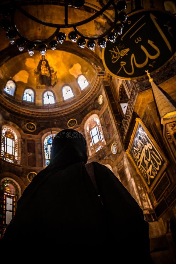 Hagia Sophia, Istanbuł obrazy royalty free
