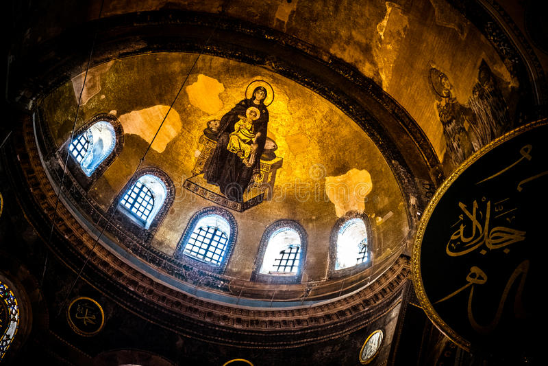 Hagia Sophia, Istanbuł fotografia stock