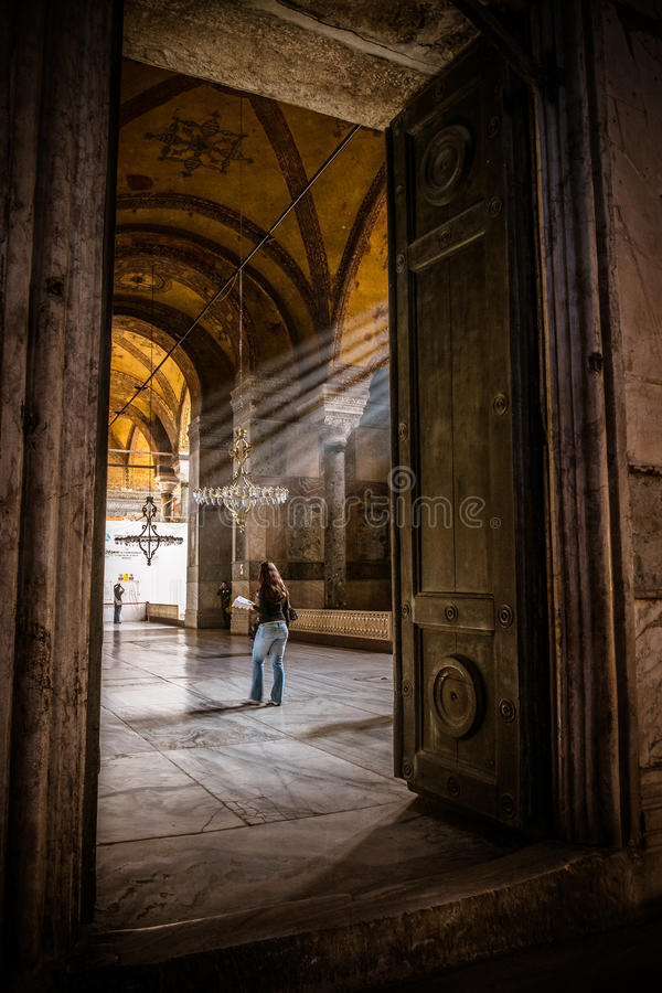 Hagia Sophia, Istanbuł fotografia royalty free