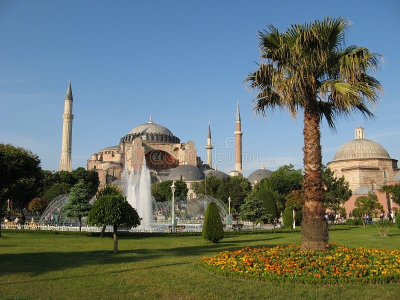 Hagia Sophia Istanbul stockfoto