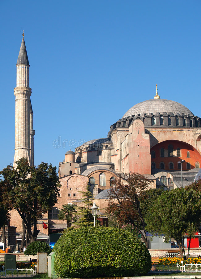 Download Hagia Sophia in Istanbul stock photo. Image of islam, turkish - 1654964