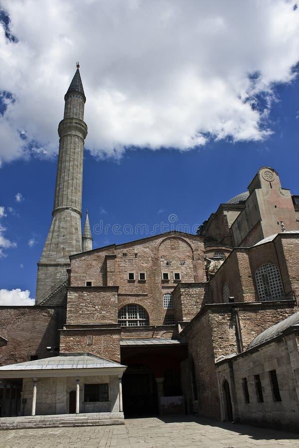 Hagia Sophia in Istanbul stockbilder