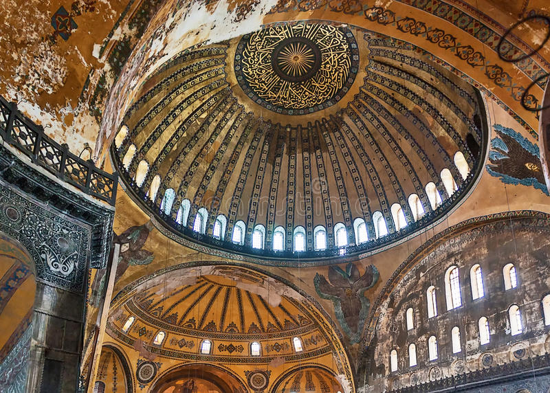 Hagia Sophia, Istanbul stockbilder