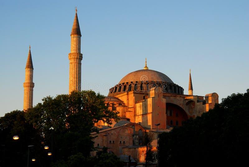Hagia Sophia in Istanbul royalty free stock photos
