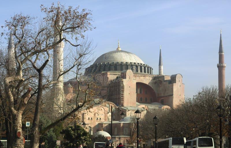 Hagia Sophia, Istanbul, die Türkei - Dezember 2014 stockfotos